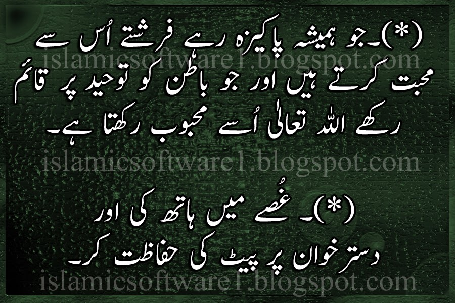 islamic golden words in urdu 2
