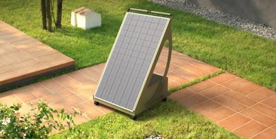 Fotovoltaico sul balcone - Foto ri-ambientando