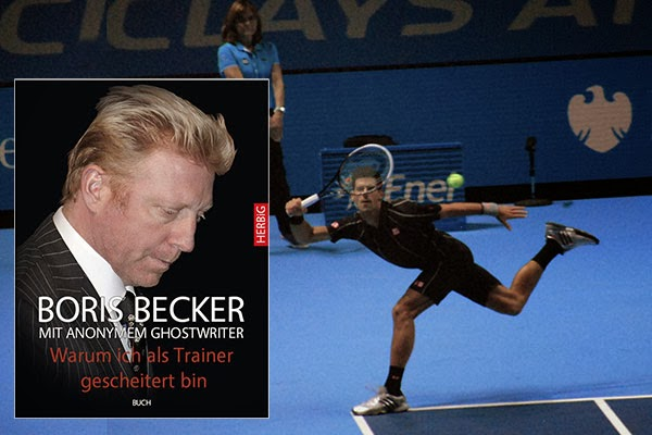 Boris Becker announces summer new book at: Why I failed as a coach