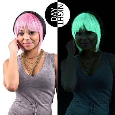 Trend Warna Rambut Glow In The Dark