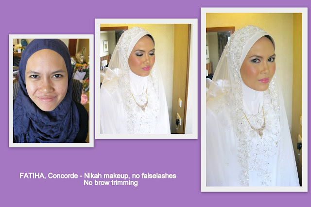 Natural wedding look