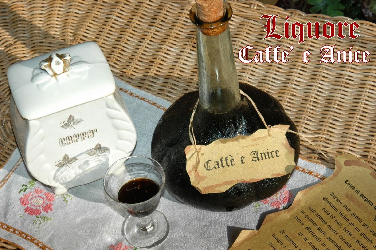 liquore caffè e anice