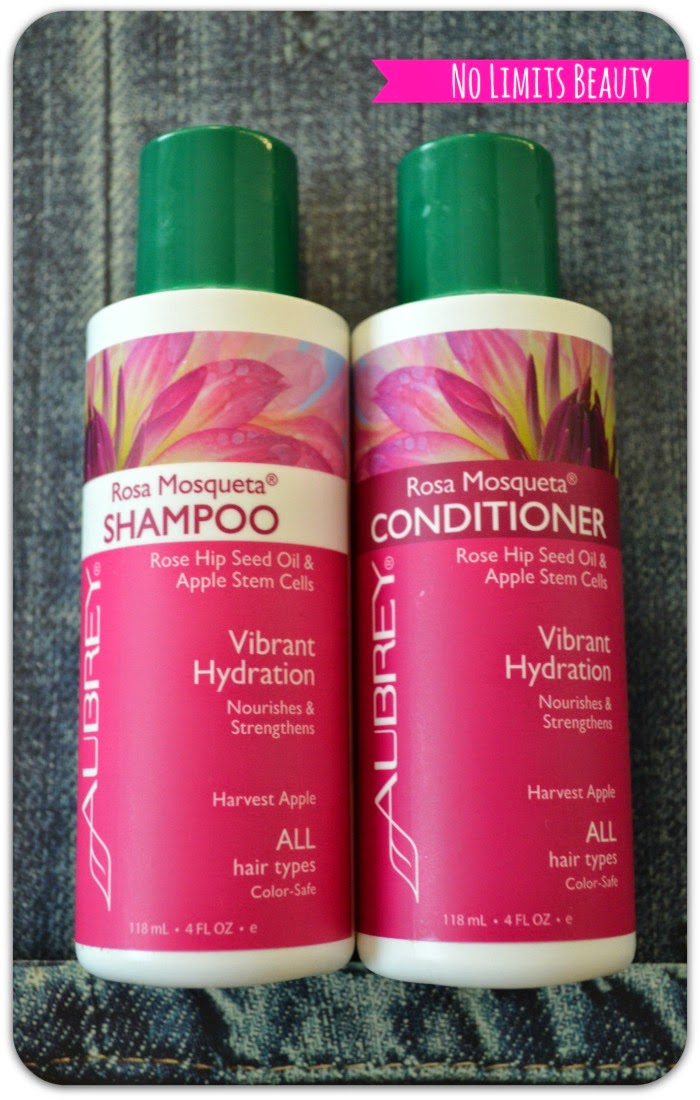 iHerb - Aubrey - Rosa Mosqueta Shampoo & Conditioner