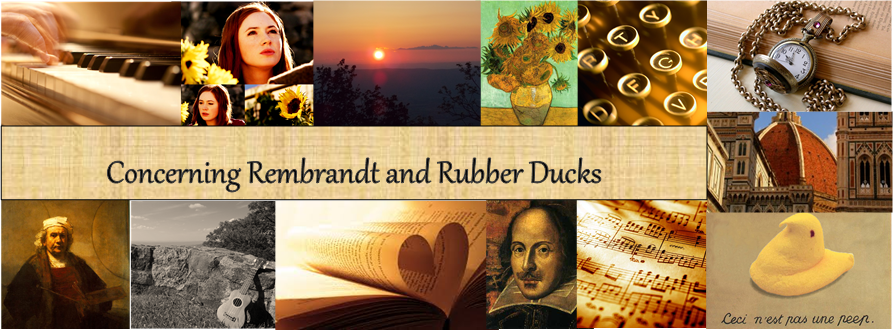 Concerning Rembrandt and Rubber Ducks
