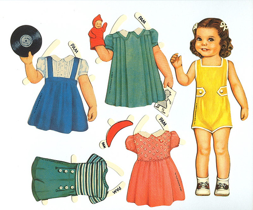 in Raising Girls: Crafts for Little Girls: Fun with Paper Dolls