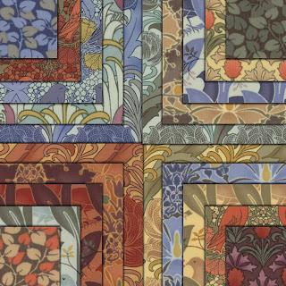 Moda MORRIS MODERNIZED Quilt Fabric by Barbara Brackman