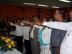 Toma de Protesta de la Coalición Nacional Ciudadana.A.C., que es presidida por Jorge Morales