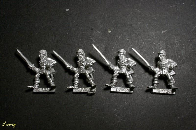 Elfo Silvano con espada, Sword 15 de referencia 074213/14
