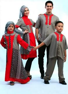Permalink to 10 Model Baju Keluarga Muslim Modern Sekarang 2017, Limited Edition