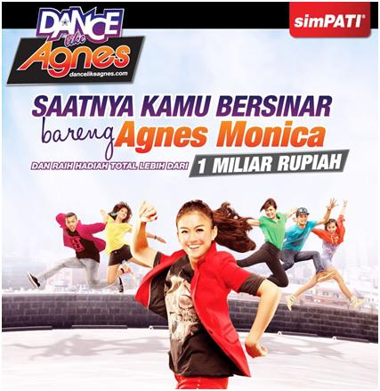 Simpati Agnes – Dance Like Agnes, upload video dapet 1 Milyar