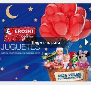 Juguetes Eroski Navidad 2012