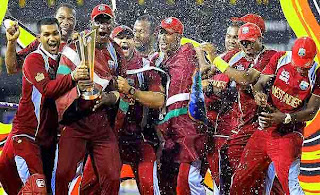 The West Indies wins the championship of 2012 ICC T20