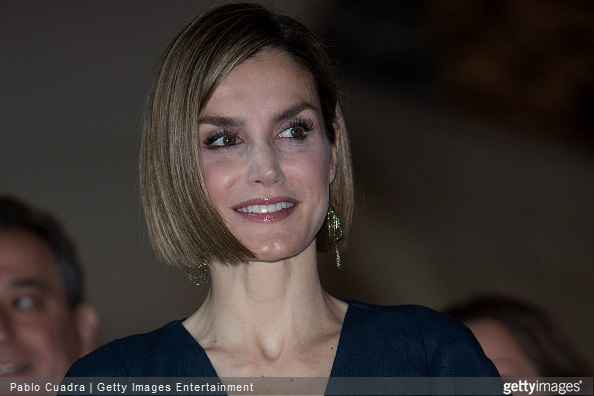 Queen Letizia of Spain attends the 'Barco de Vapor' and 'Gran Angular' awards ceremony