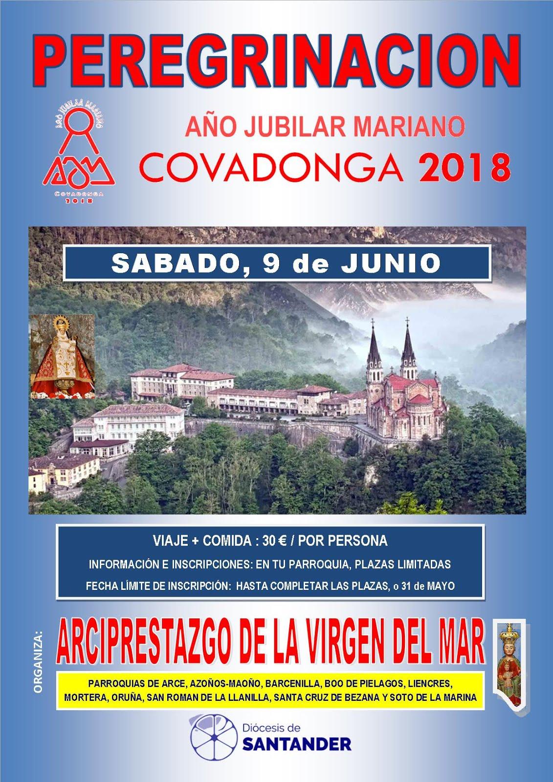 PEREGRINACION AL SANTUARIO DE COVADONGA_AÑO JUBILAR MARIANO