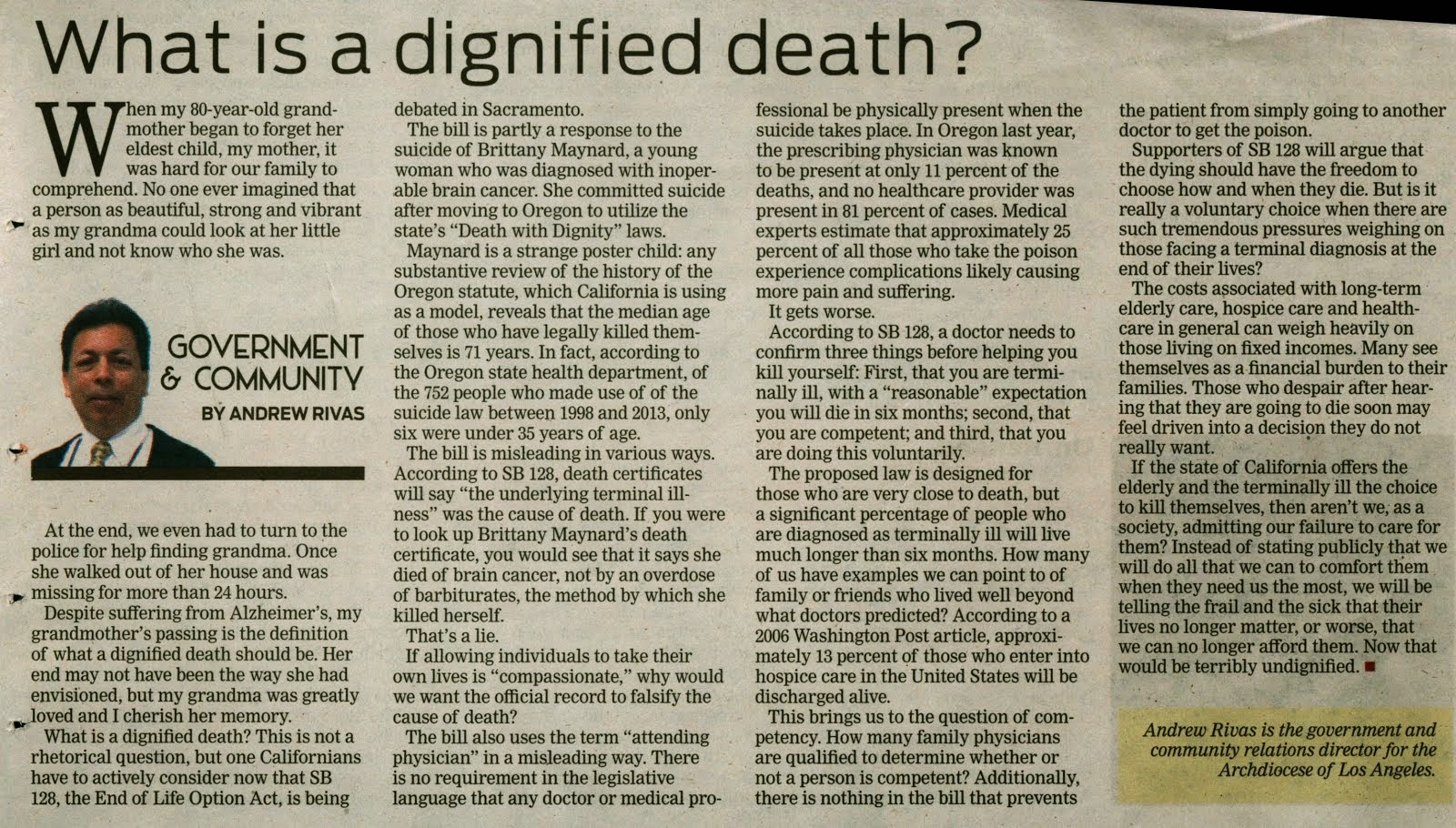 death and dying a muslims perspective This serves to keep all of his life and deeds in perspective as he tries to live in islam views death merely as a stage a baby dying at or before birth.