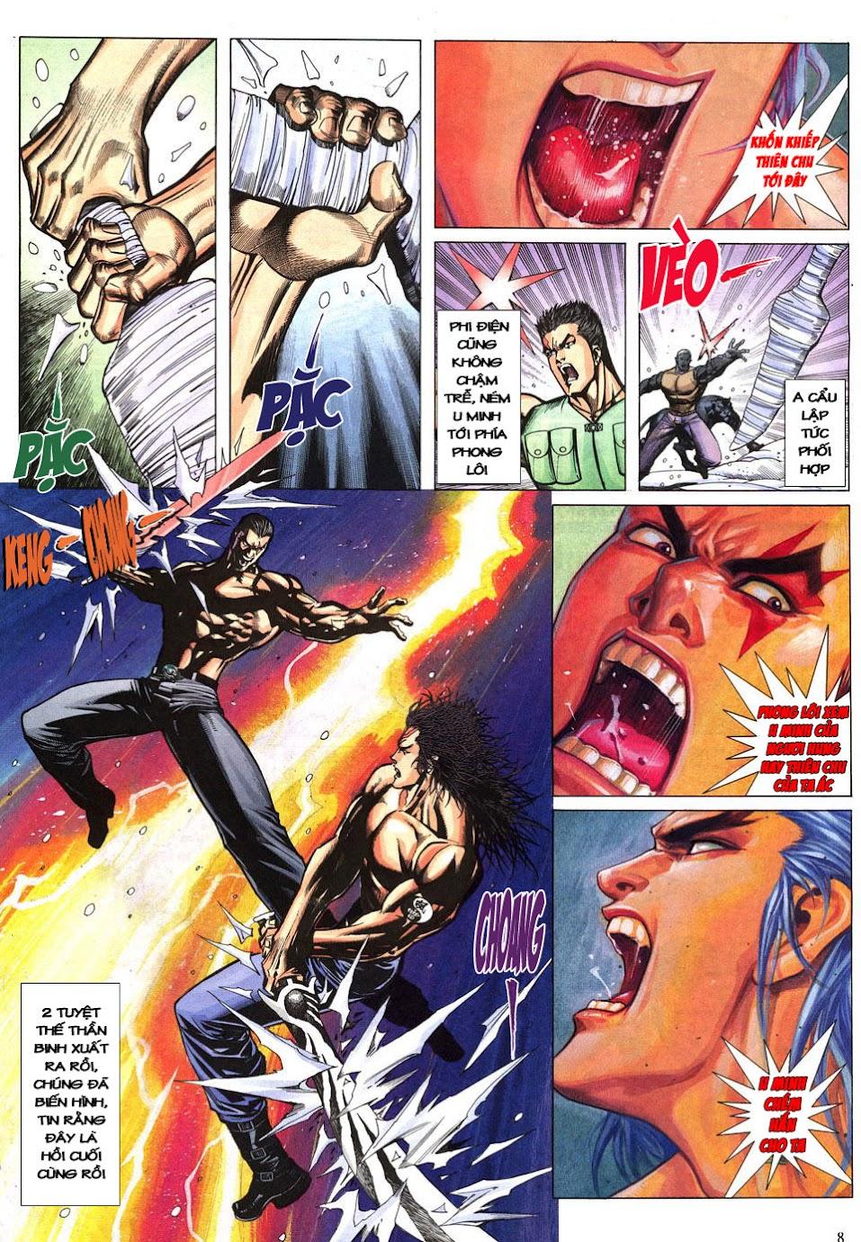Phong Lôi chap 40 - Trang 9
