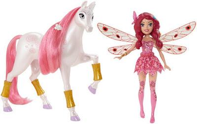 JUGUETES - MIA AND ME : Mia y yo  Pack | Mia & Lyria | Unicornio & Muñeca 11 Cm Producto Oficial Serie Television 2015 | Mattel CFF19 A partir de 3 años | Comprar en Amazon