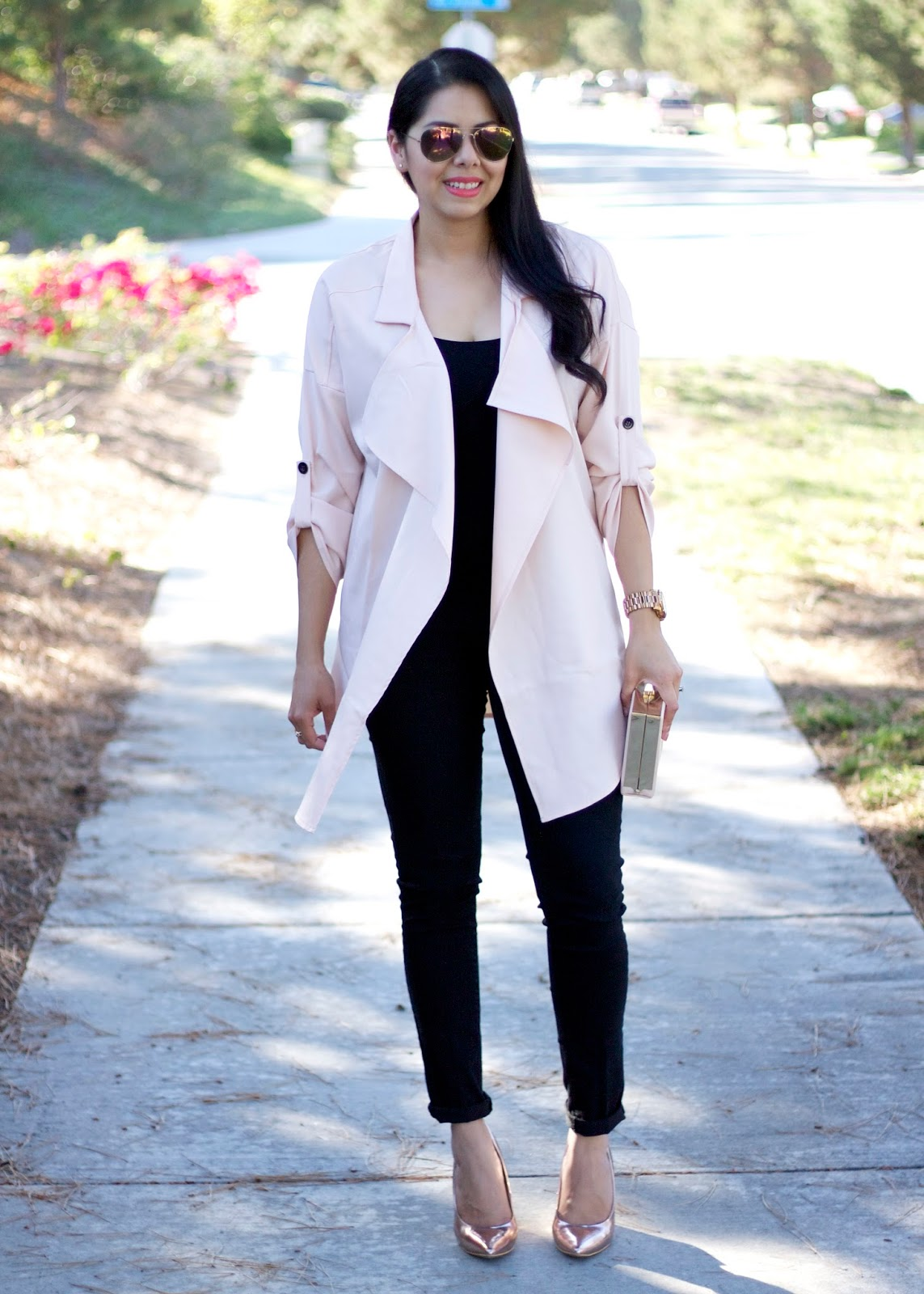 Sheinside relaxed trench, trenchcoat trend 2015, San Diego fashion blogger, san diego style bloggers