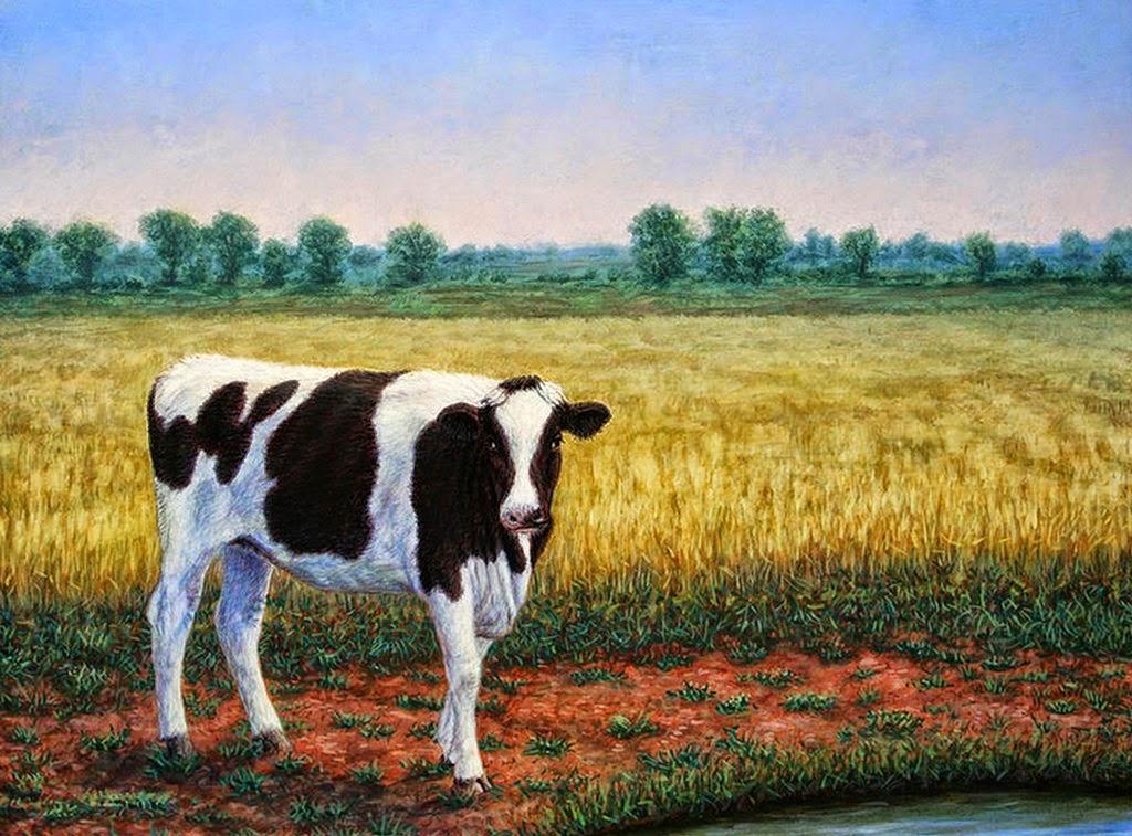 Pintura moderna y fotograf a art stica novedad en - Cuadros de vacas ...