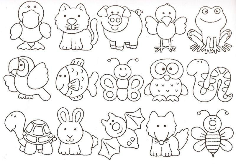 Veja os tipos de moldes de patchwork de animais.
