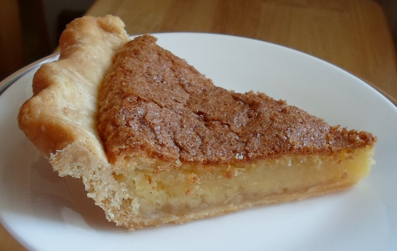 Happier Than A Pig In Mud: Chess Pie for National Pie Day