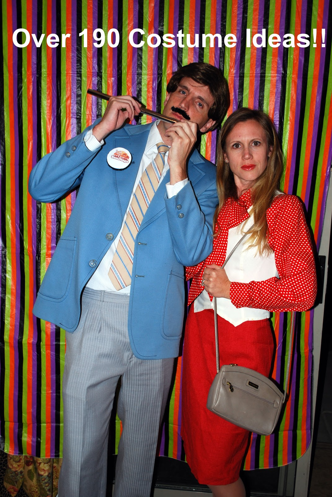 Anchorman Couple  sc 1 st  Creative Urges-Creative Blogspot Best Homemade Costume Ideas/ Best ... & Creative Urges-Creative Blogspot: Best Homemade Costume Ideas/ Best ...