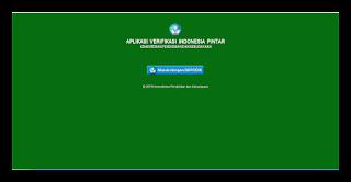 Aplikasi Verifikasi dan Penjaringan Kartu Indonesia Pintar ( KIP ) Kemdikbud