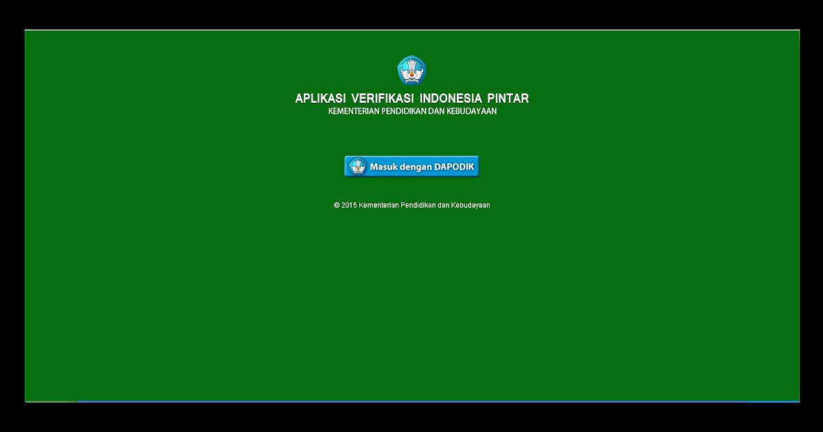 Informasi Pendidikan Indonesia Salam Satu Data Download Lengkap