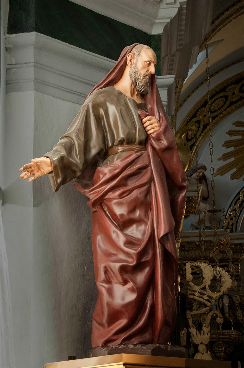 San Joaquín Penáguila Alicante Arturo Serra escultura 1