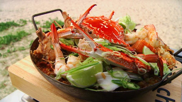 Mooloolaba Seafood Jambalaya #BBQ #Recipe