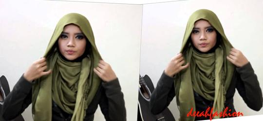 Jilbab Mudah Tanpa Jarum Simple Style