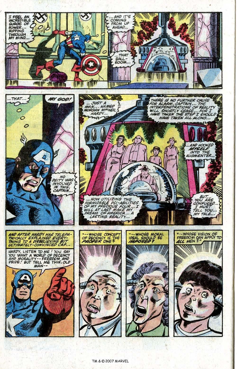 Captain America (1968) Issue #264 #179 - English 28