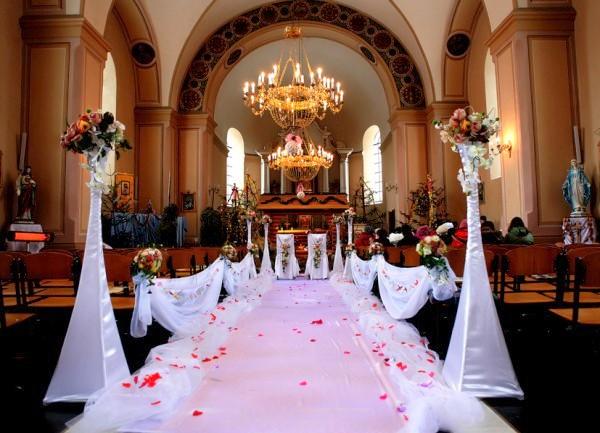 Super Matrimonioe un tocco di classe: Matrimonio Religioso: Decorare  MX12