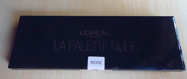 L'Oreal Paris La Palette Nude Eyeshadow Palette Rose