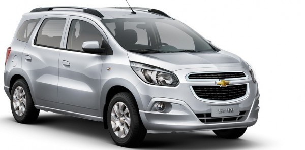 Nueva Chevrolet Spin con motor Diesel Precios y Detalles