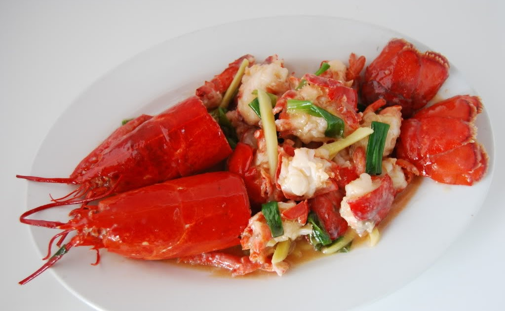 Wok with Seven Seas: Dish of the Month - Lobster with ...