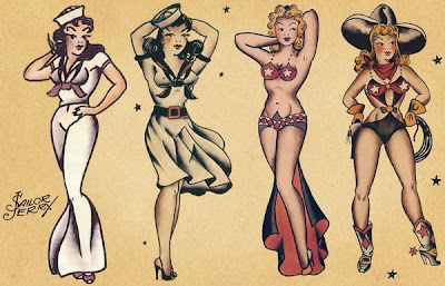 Sailor Jerry Girl Pin Ups