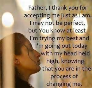 Accepted by God