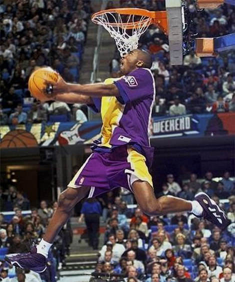 Kobe Bryant 1997 Slam Dunk Contest Champion