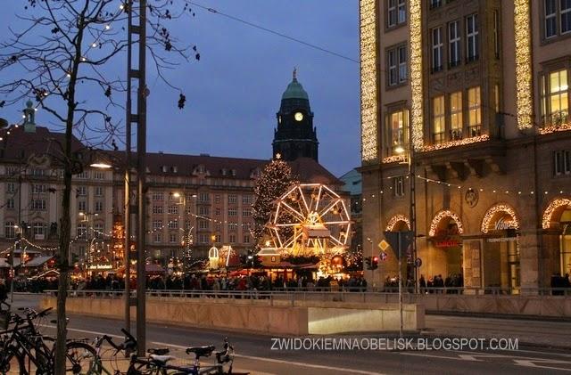 580 lat zimowej tradycji...Jarmark Bożonarodzeniowy w Dreźnie