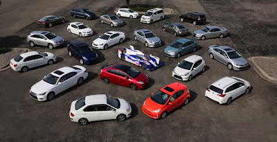 posisi Toyota masih teratas dalam jajaran industri otomotif global