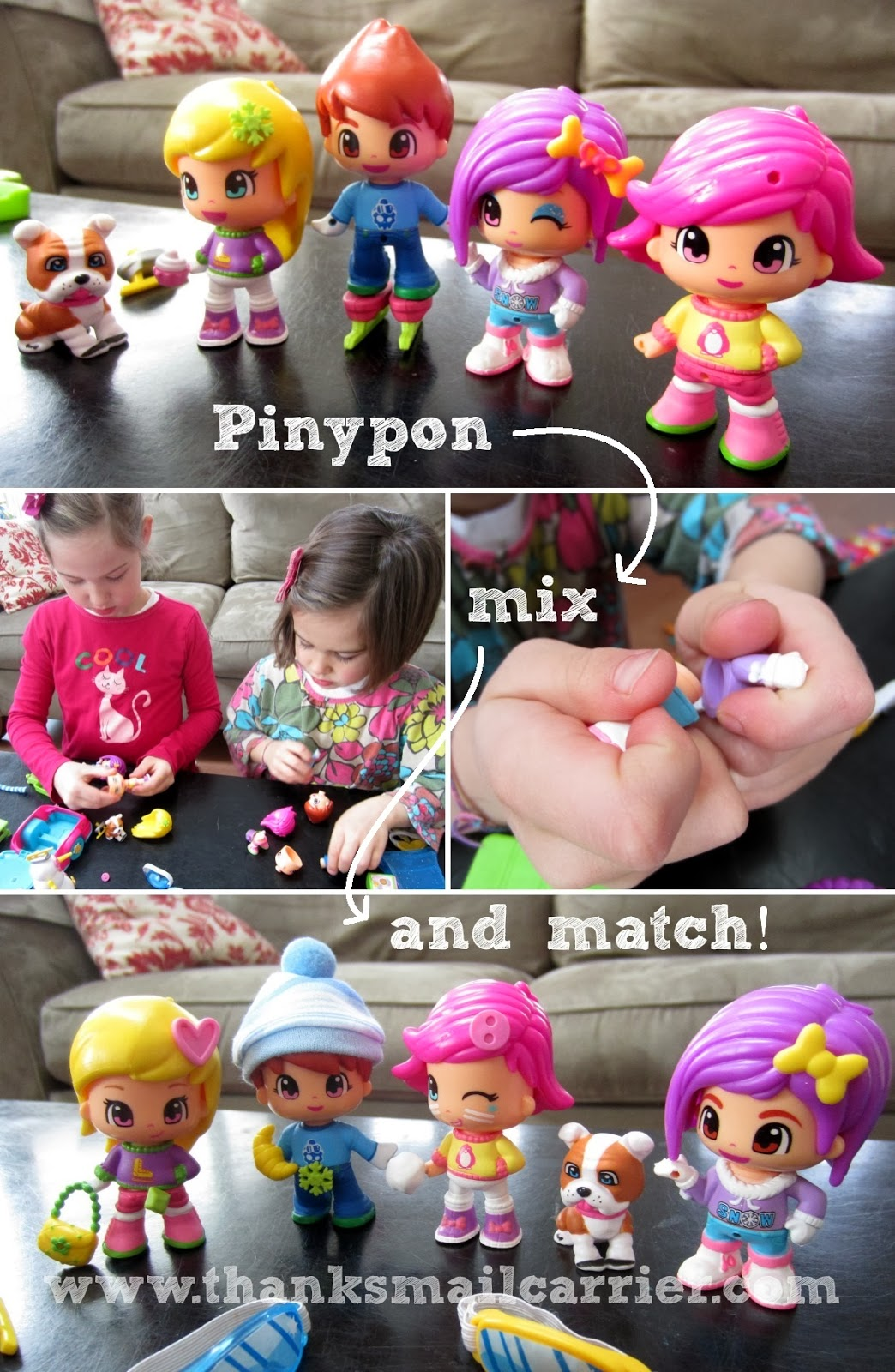 Pinypon mix and match dolls
