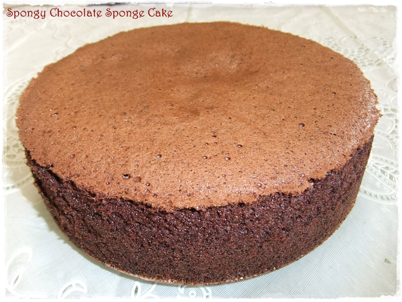 Tested & Tasted: Spongy Chocolate Sponge Cake
