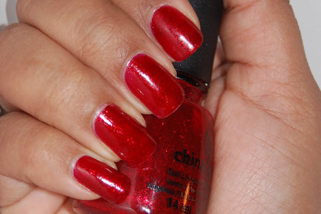 China Glaze Ruby Red