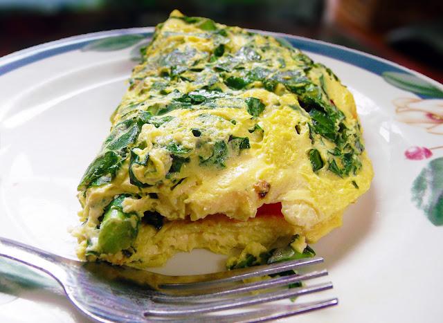 Garden Vegetable Omelet