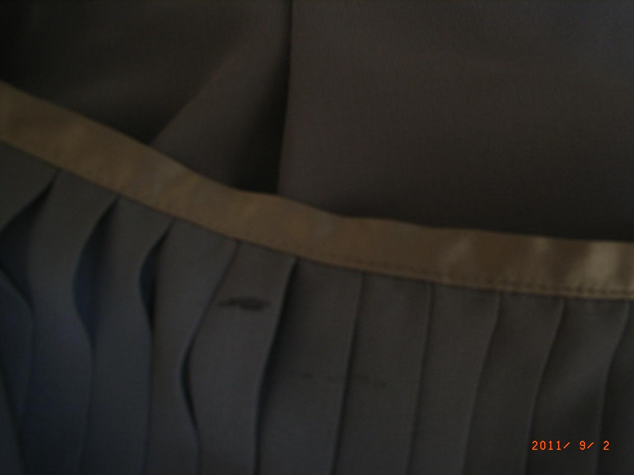 petits prix vide dressing de Flora : LES PETITES - Jupe plissée grise - T40 - NEUVE