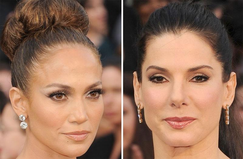 make5 As melhores maquiagens do Oscar 2012