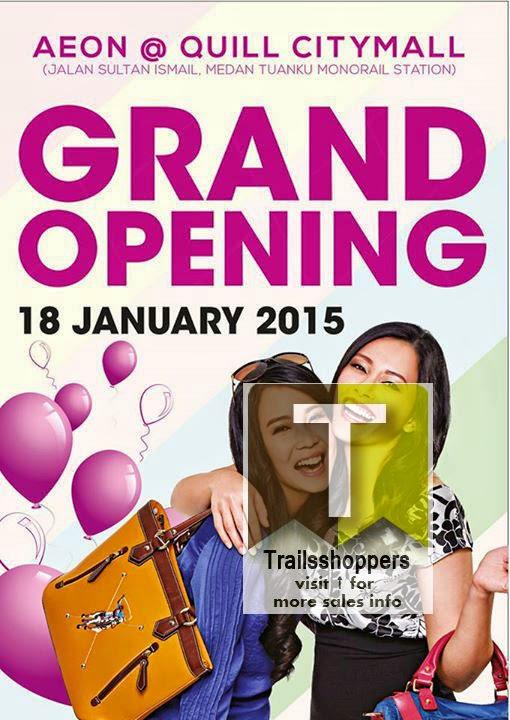 AEON Quill CityMall Medan Tuanku Monorail Station