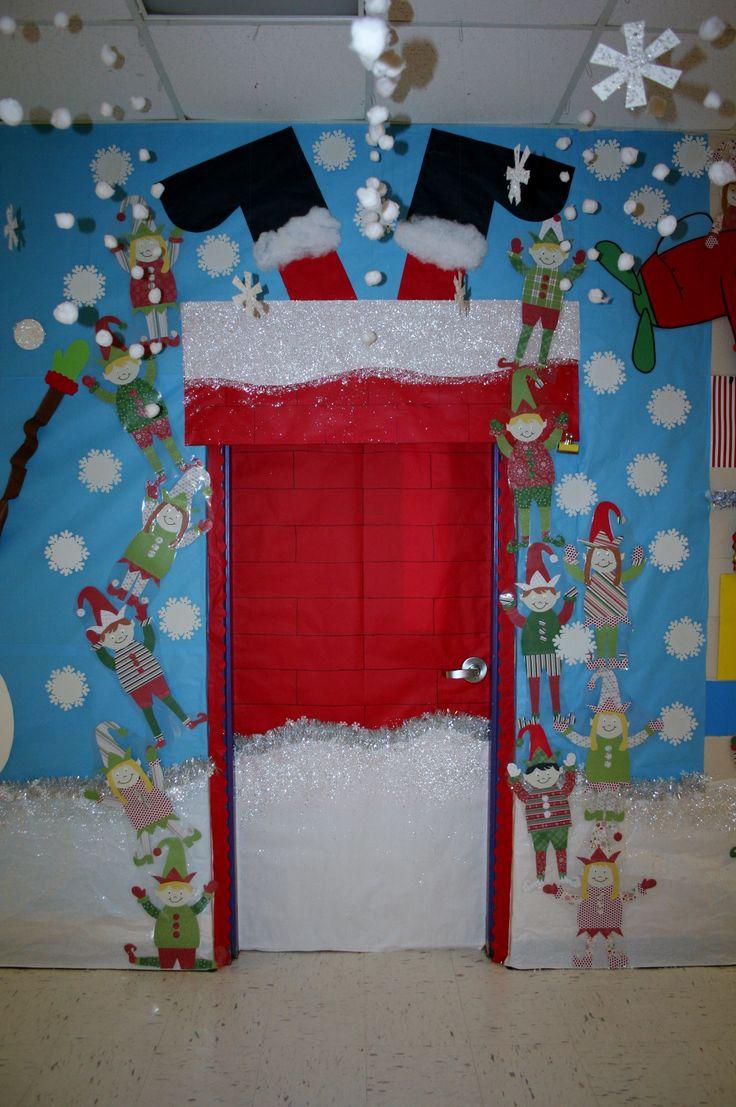 decoracao de sala natal : decoracao de sala natal:Pedagogia Intensa: 8 Portas Sala de Aula Natal