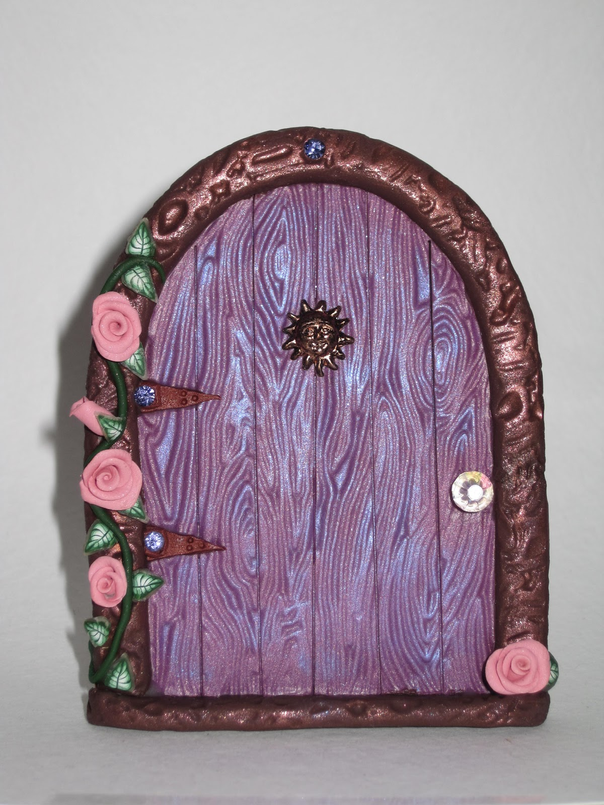 Enchanted owl artistry opening to doorway to the faerie for The faerie door